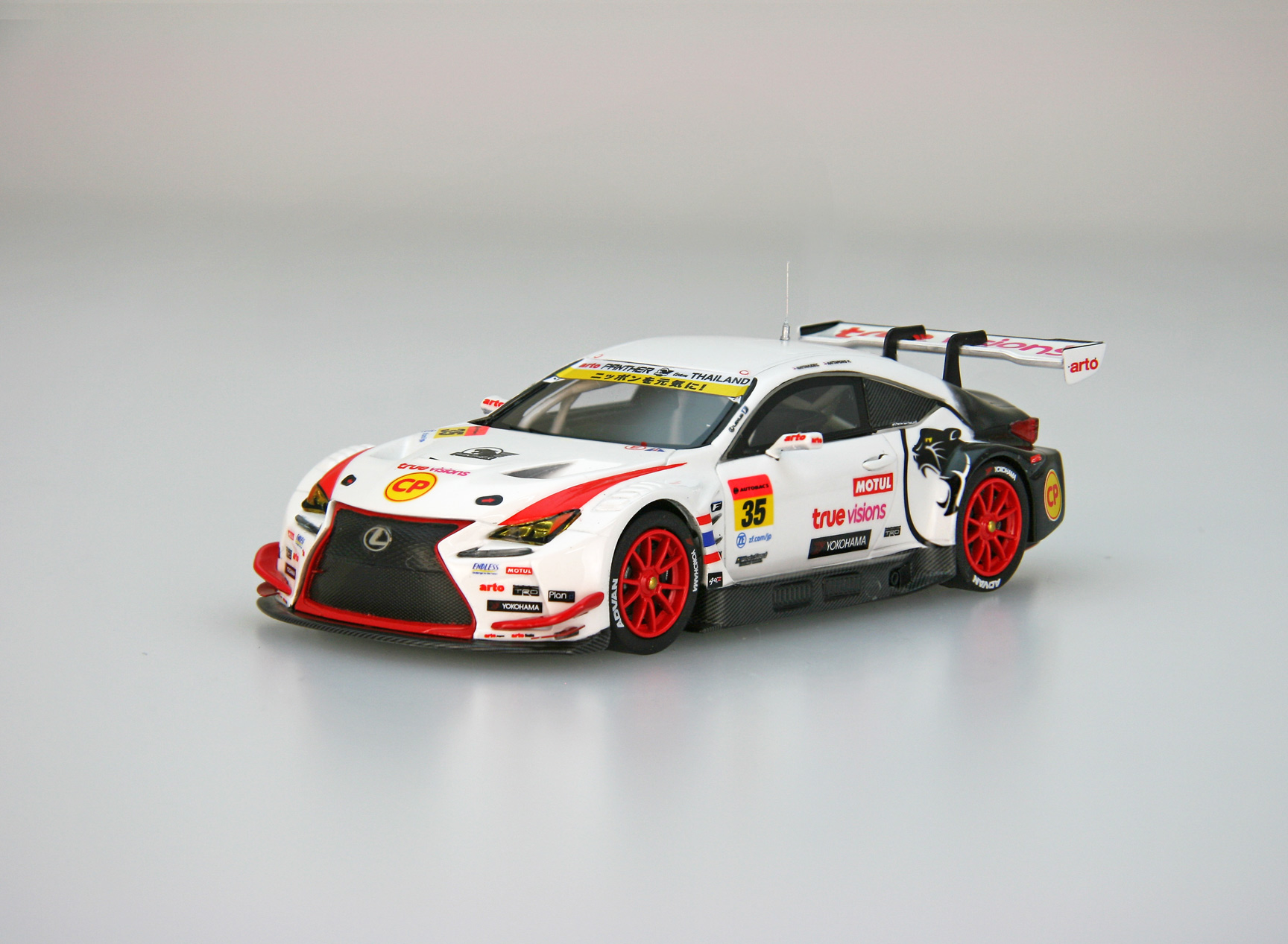 【45649】arto RC F GT3 SUPER GT GT300 2018 No.35 [RESIN]