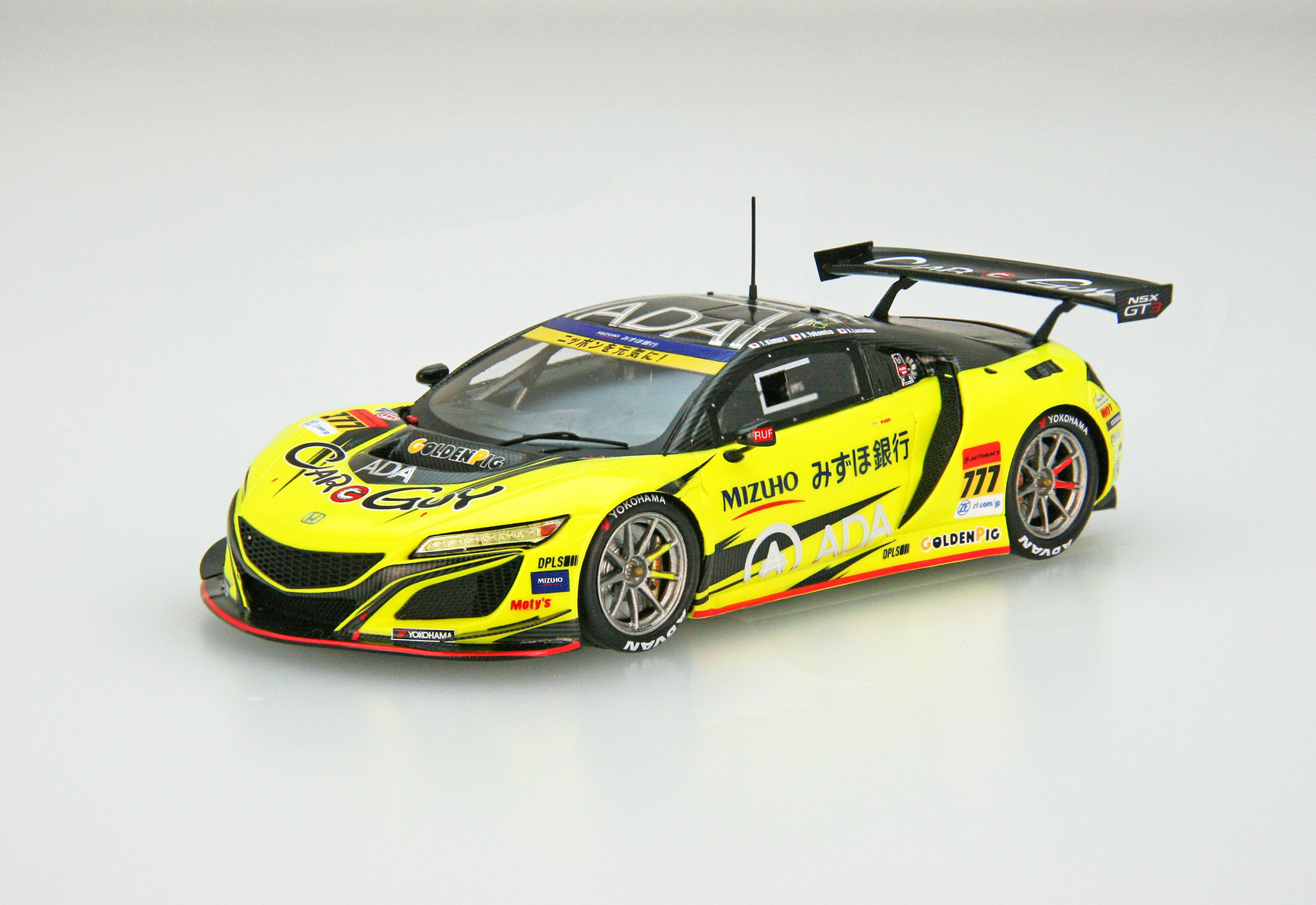 ☆予約品☆【45654】CARGUY ADA NSX GT3 SUPER GT GT300 2018 No.777 [RESIN]