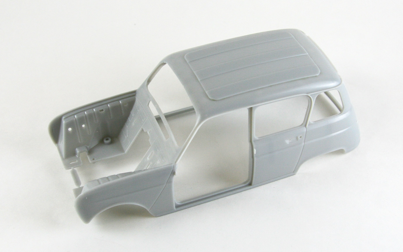 【63003】Renault 4L Fixed roof body 【PARTS】
