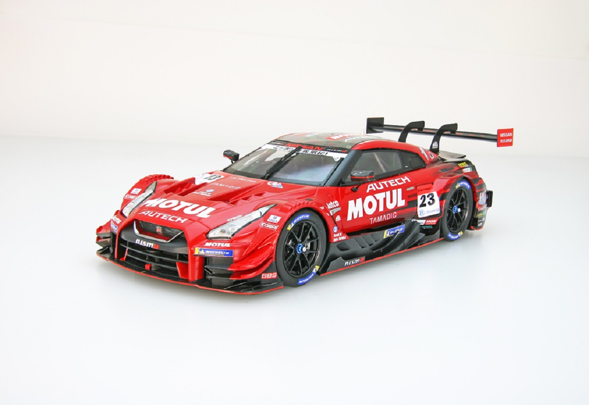 【81110】1/18 MOTUL AUTECH GT-R SUPER GT GT500 2018 No.23 [RESIN]