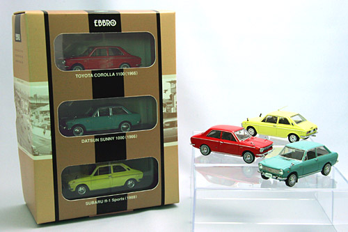 ☆限定セット☆ 【90005】1960's PUBLIC CAR COLLECTION