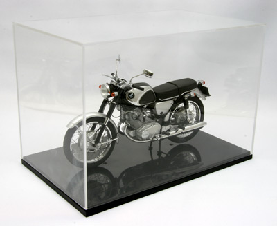 【99007】DISPLAY CASE  for 1/10 scale motorcycle (W238×H166×D148mm)