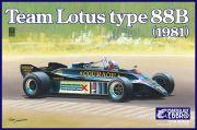 ��20010��1/20 Team Lotus Type 88B 1981  ��PLASTIC KIT��