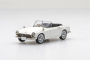 ☆予約品☆【45466】Honda S500 1963 (White) 【RESIN】