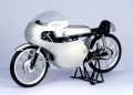 【10009】1/10 HONDA CR110 With ALUMINUM COWLING (BLACK/SILVER)