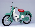 【10027】1/10 HONDA SUPER CUB C100 (GREEN)