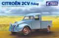 【25004】1/24 Citroen 2CV Pick up  【PLASTIC KIT】