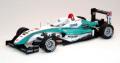 【44076】PETRONAS TOM'S F308 2008 Macau GP Winner No. 2 【RESIN】