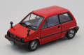 【44491】Honda CITY with alloy wheel 1981 (RED)