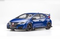 【81064】1/18 Honda CIVIC TYPE R 2015 (UK License Plate) (Brilliant Sporty Blue Metallic)