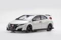 ☆予約品☆【81066】1/18 Honda CIVIC TYPE R 2015 (Japanese License Plate) (Championship White)