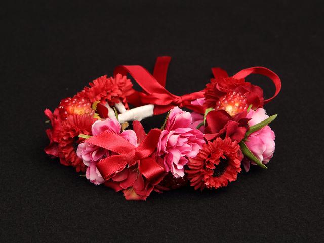 ベアレット~くまのぬいぐるみとお花のリストレット