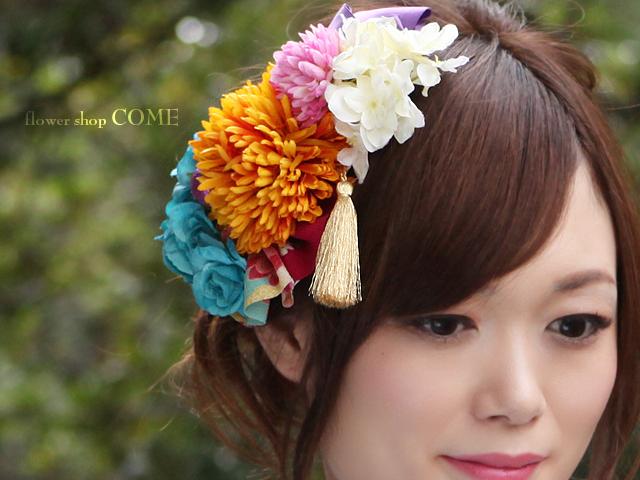 和装成人式・卒業式用の髪飾り(オシャレで可愛いオリジナル髪飾り)[7000円台]