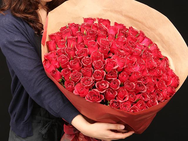 100本の花束