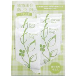 植物成分防虫剤タンス用4包 森の香り・・・525円(税込)