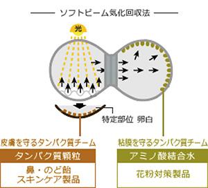 ソフトビーム気化回収法