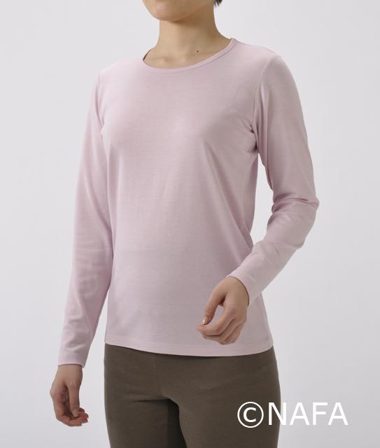 竹布長袖Tシャツ Lady's