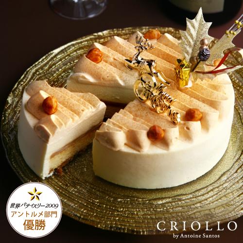 【クリスマスケーキ・送料込12月18日~お届け】ガイア・ノエル(直径15cm)【冷凍便】