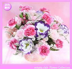 7月の誕生花 ピンクアレンジ3,500円【送料無料】
