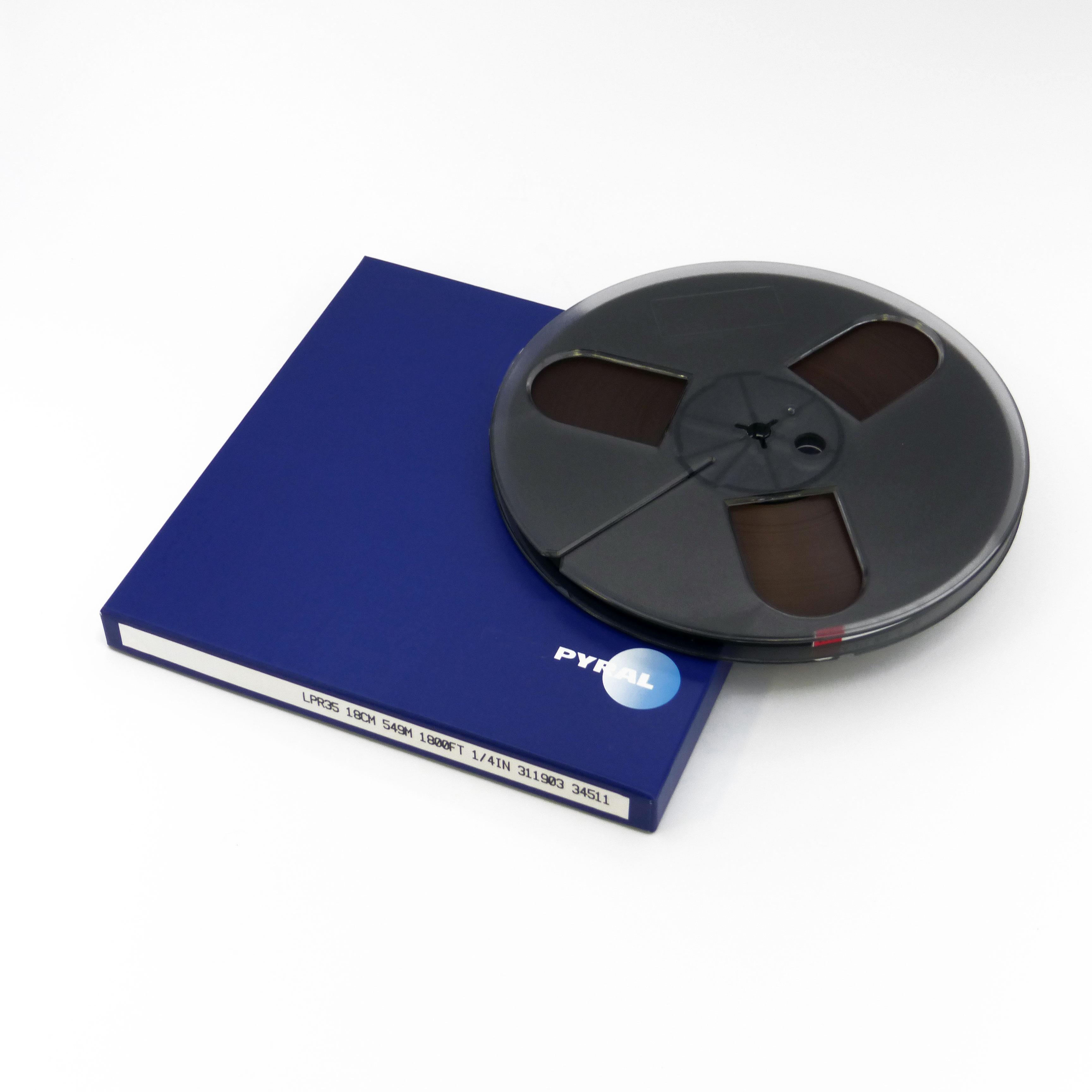 PYRAL(旧RMG) 7号オープンプラスチックリールテープ LPR35-1/4-1800(549m) 34511