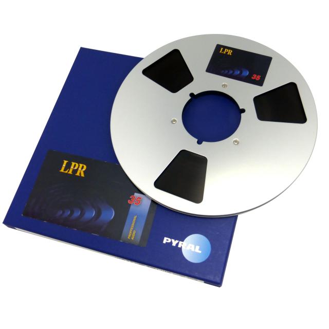 PYRAL(旧RMG) 10号オープンリールテープ メタルリール LPR35-1/4-3608(1100m)  R34520