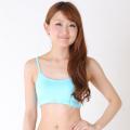 スポーツブラC17(ライトブルー)ダンス、ヨガ、スポーツに最適【メール便送料無料】