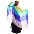 高級シルクベールR12-1-Lサイズ276cm*110cm(4色ピンク、青紫、Lブルー、ライムグリーン)【メール便送料無料】