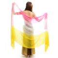 高級シルクベールR5-15サイズ236cm*110cm(3色ピンク、ホワイト、イエロー)【メール便送料無料】