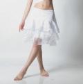 オーバースカートSK41レースフリル(white)【ネコポス便送料無料】