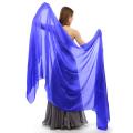 高級シルクベールSR1-2Lサイズ276cm*110cm(単色ロイヤルブルー)【メール便送料無料】