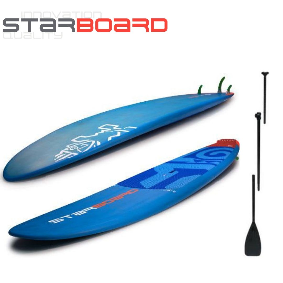 "2018 STARBOARD SUP 9'8'' x 30"" ELEMENT CARBON BALSA スターボード エレメント"