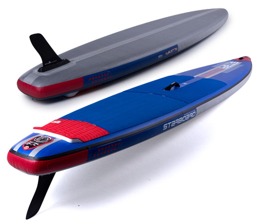 "2018 STARBOARD INFLATABLE SUP ALLSTAR AIRLINE 12'6""x27""x6"" ALL スターボード インフレータブルSUP オールスター エアライン"