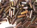 チェコ製 7mm竹 丸穴(グレイレインボー/クリスタル)
