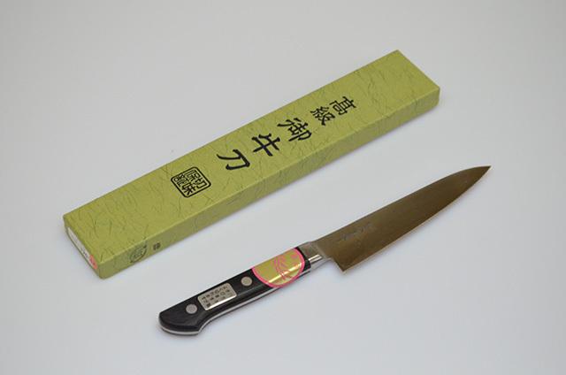 【川澤刃物工業】久重作 ペティナイフ 120mm