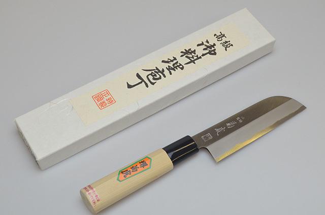 【村田刃物】菊虎 皮むき包丁 120mm