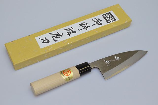 【山本刃剣】堺英 アジ裂包丁 105mm