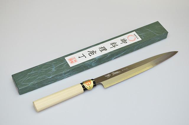 【山脇刃物製作所】郷 特選 柳刃包丁 210mm