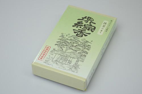 【堺線香工業協同組合】堺線香(抹茶)