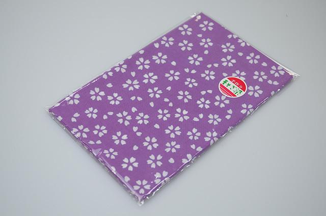 【堺注染和晒興業会】注染手拭 さくら(紫)