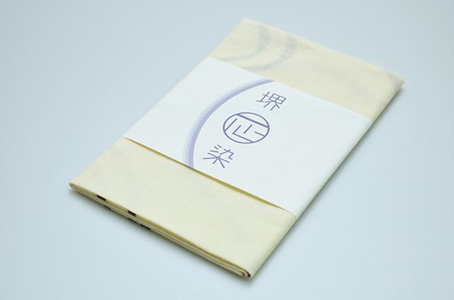 【堺注染和晒興業会】手ぬぐい キャット・ファイト(アイボリー)