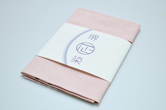 【堺注染和晒興業会】手ぬぐい キャット・ファイト(ピンク)