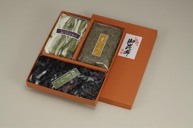 【郷田商店】昆布詰合せ3袋入