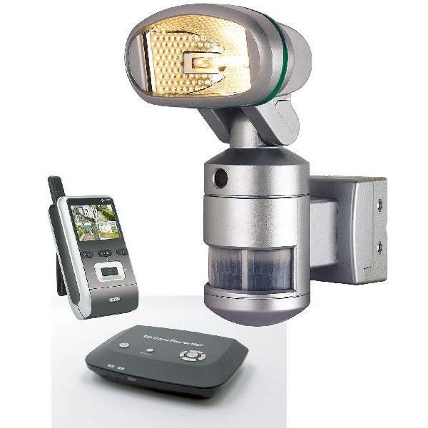 岩田エレクトリック ワイヤレス防犯カメラ ナイトウォッチャー基本セットE(カメラ本体+携帯モニター+デジタルビデオレコーダー)