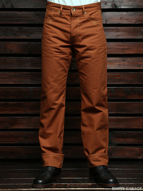 STEVENSON OVERALL CO. Grass Valley LOT. 350 Brown Selvage Canvas
