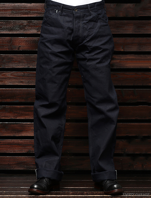 STEVENSON OVERALL CO. Visalia LOT. 380 Indigo Selvage Canvas