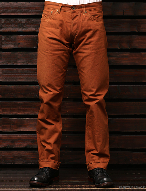 STEVENSON OVERALL CO. Calistoga LOT. 340 Brown Selvage Canvas