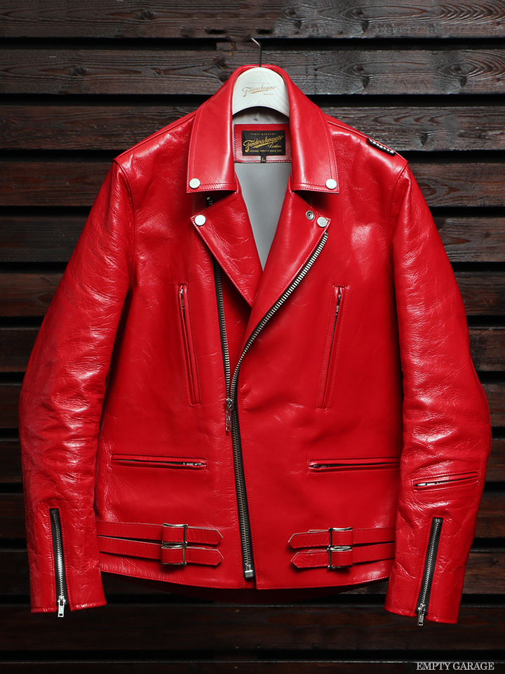 Finderskeepers 2017AW FK-W.RIDERS JACKET U.K. RED HORSEHIDE