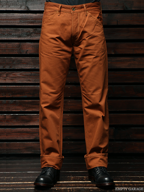 STEVENSON OVERALL CO. Dixon LOT. 310 Brown Selvage Canvas