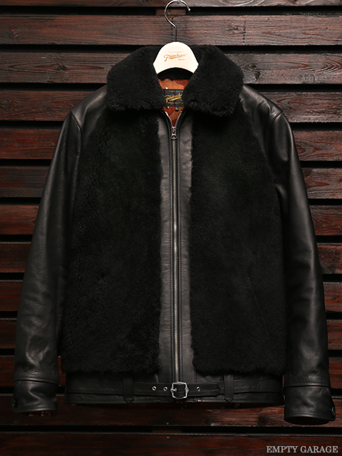FindersKeepers FK-GRIZZLY JACKET BLACK HORSEHIDE x SHEEPSKIN