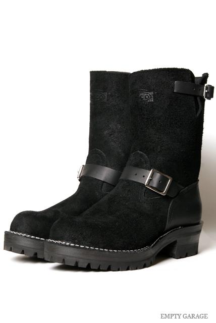 [ウエスコ] WESCO BOOTS BOSS Black Rough Out x Smooth Custom